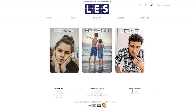 Aprire un negozio di abbigliamento online